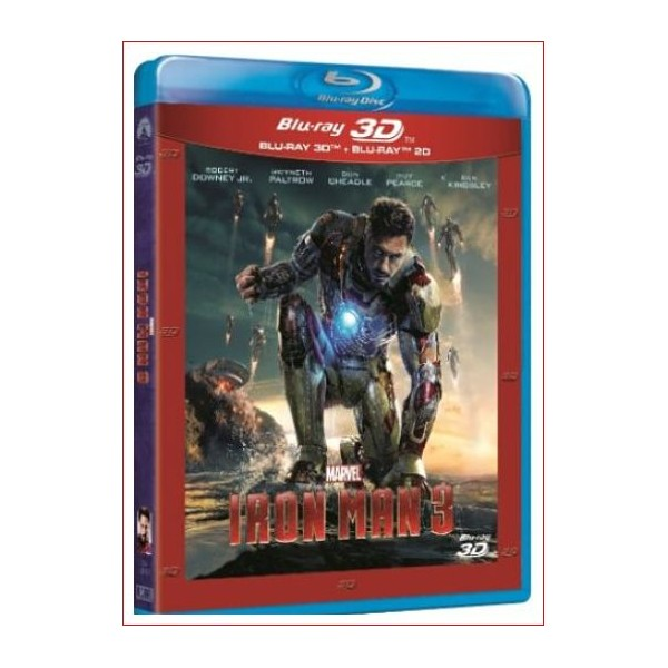 IRON MAN 3 (Blu Ray 2D + 3D) Ficción 2003