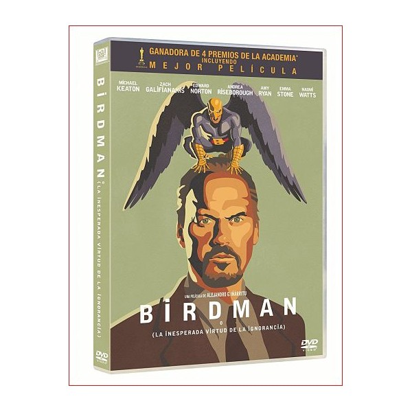 BIRDMAN (DVD)[2014]