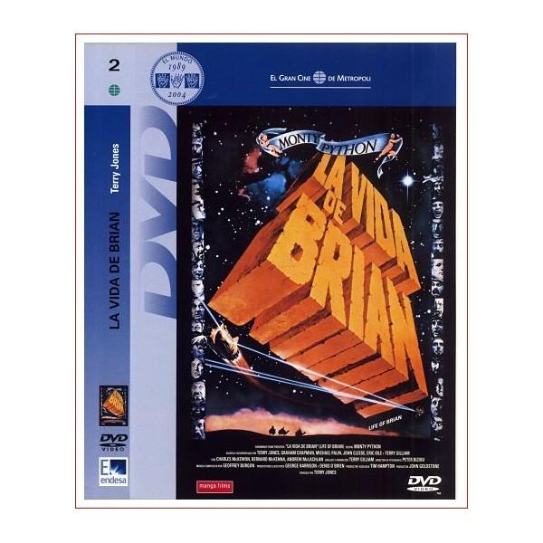 LA VIDA DE BRIAN DVD 1979 COMEDIA