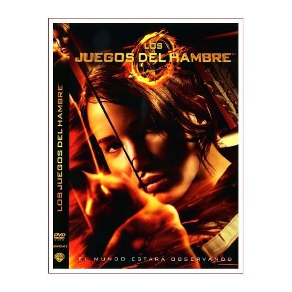 LOS JUEGOS DEL HAMBRE DVD 2012