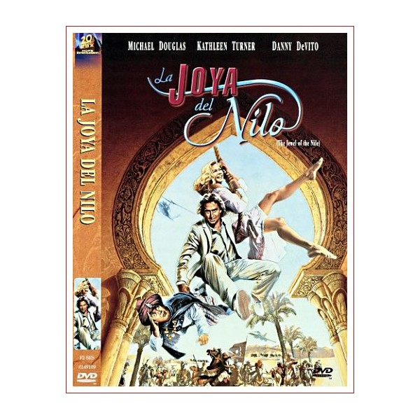 LA JOYA DEL NILO DVD 1985