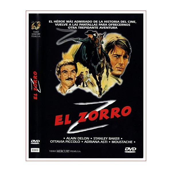 EL ZORRO DVD 1974