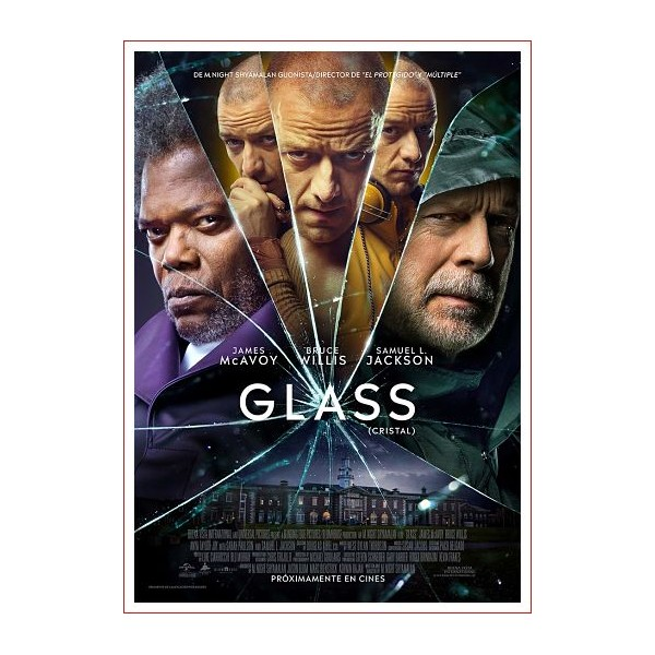 Glass blu ray 2019