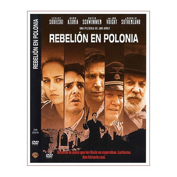 REBELION EN POLONIA DVD 2001 Dirección Jon Avnet