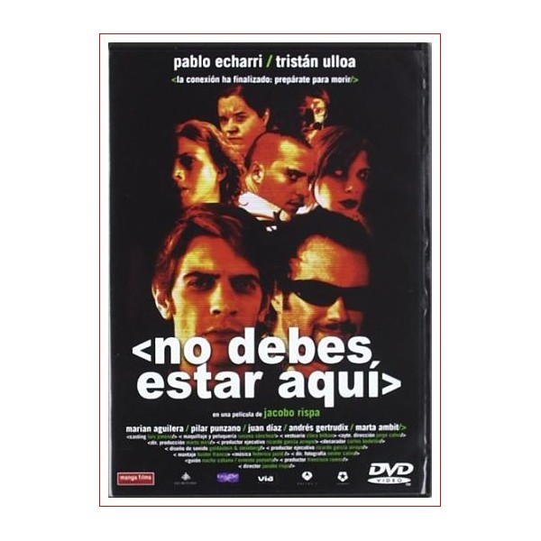 NO DEBES ESTAR AQUÍ DVD 2002