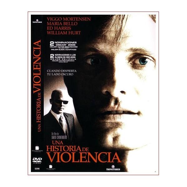 UNA HISTORIA DE VIOLENCIA DVD 2005 MAFÍA, HERMANOS
