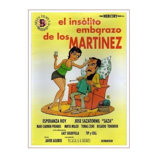 EL INSÓLITO EMBARAZO DE LOS MARTÍNEZ DVD 1974 COMEDIA DE CINE ESPAÑOL