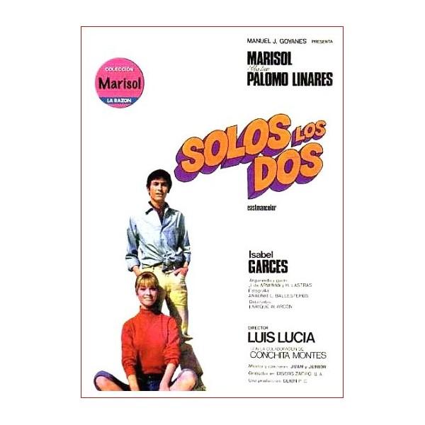 SOLOS LOS DOS Dvd 1968 Cine Español con Palomo Linares