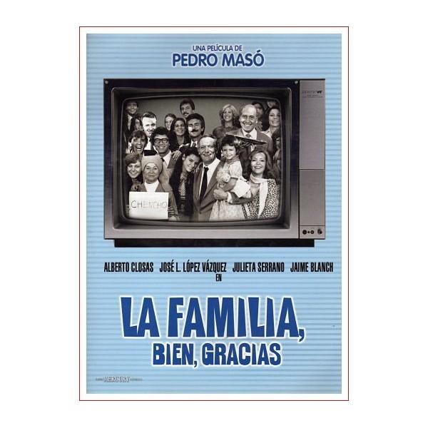 LA FAMILIA BIEN, GRACIAS Dvd de Ocasión funda de carton