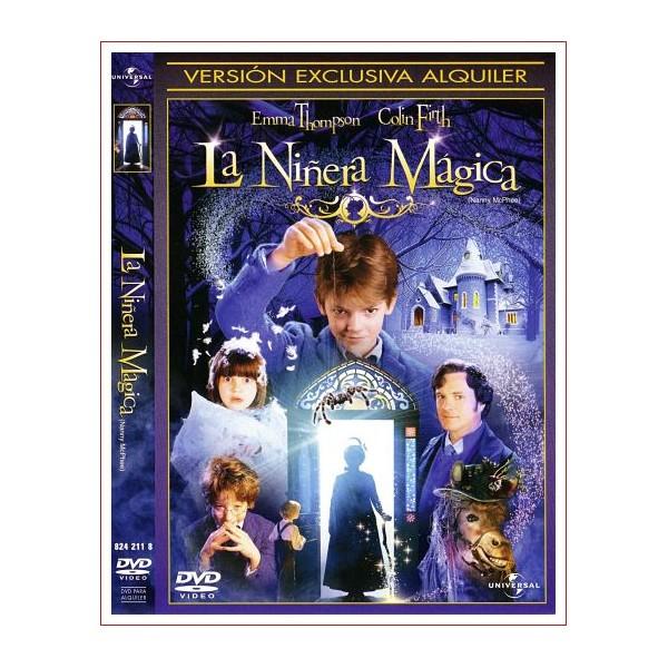 LA NIÑERA MAGICA DVD 2006 Comedia de una persona de aspecto curioso