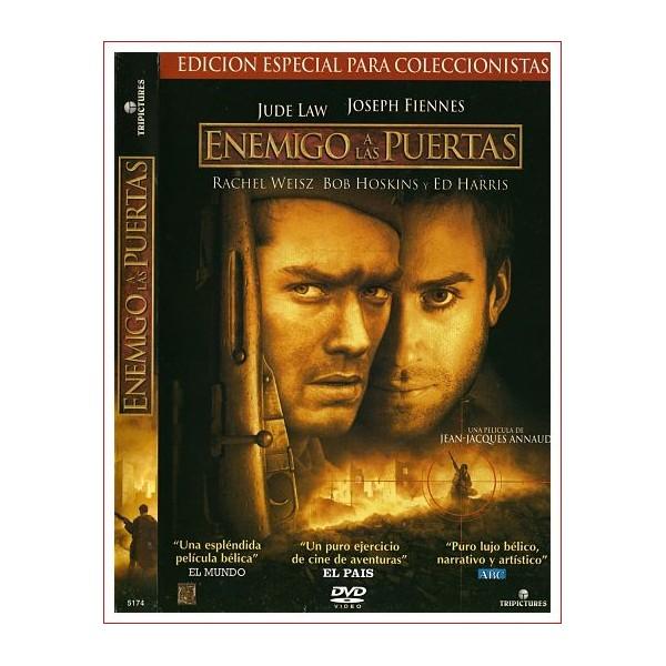 ENEMIGO A LAS PUERTAS DVD 2001 la historia de un legendario duelo