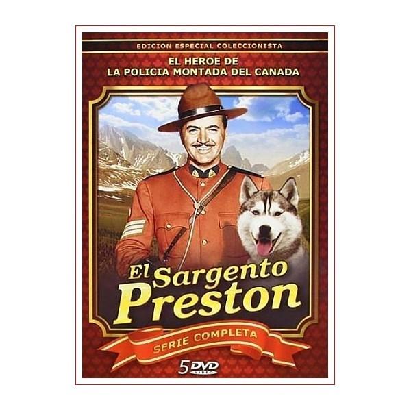 EL SARGENTO PRESTON 5 DVD