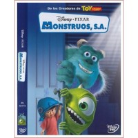 MONSTRUOS SA Dvd 2001 Dirección Pete Docter, Lee Unkrich