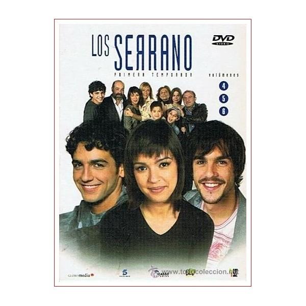 LOS SERRANO 1 TEMPORADA PACK DISCOS 4-5-6