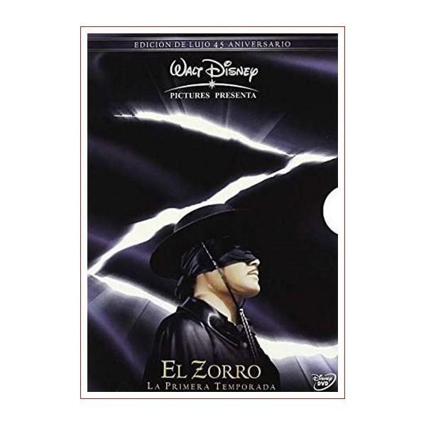 Pack El Zorro 1ª Temporada: Edición de Lujo 45 Aniversario DVD 1957