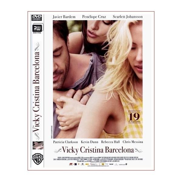 VICKY CRISTINA BARCELONA DVD Comedia 2008 Dirección Woody Allen