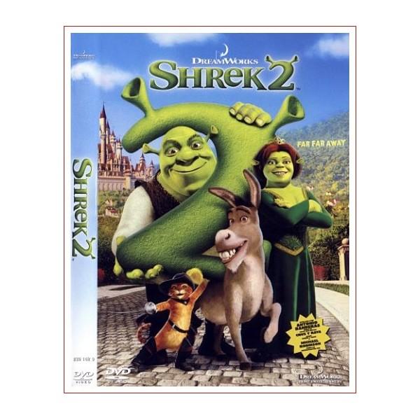 SHREK 2 Dvd 2004 Película de Animación