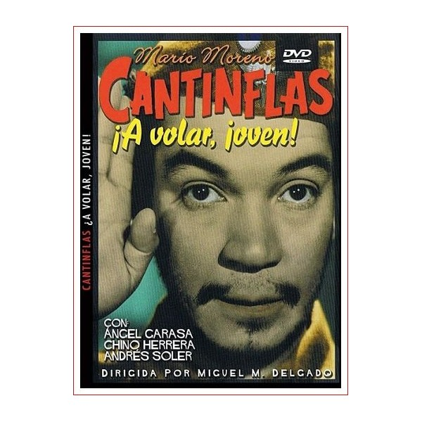 CANTINFLAS ¡A VOLAR, JOVEN! DVD