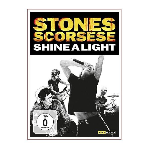 SHINE A LIGHT (STONES SCORSESE) DVD Documental Concierto