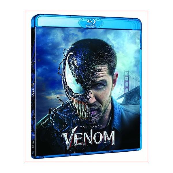 VENOM 2018 en DVD - BLU RAY - 3D Ciencia ficción. Marvel Comics