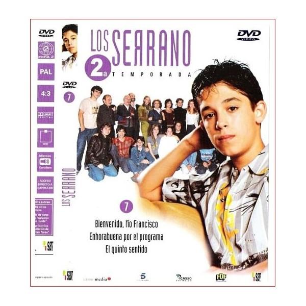 LOS SERRANO 2 TEMPORADA DISCO 7 DVD 2003