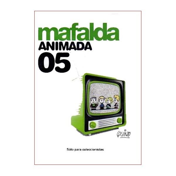 MAFALDA ANIMADA 05 Dvd 1964 Dirigida por Juan Padrón