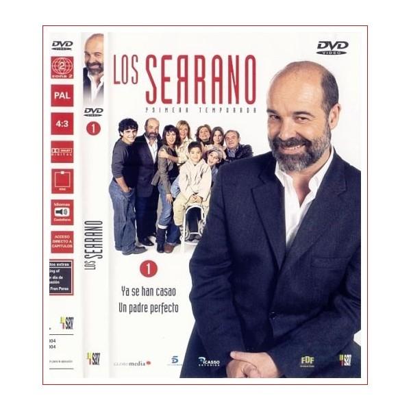 LOS SERRANO 1ª TEMPORADA DISCO 1 DVD 2003