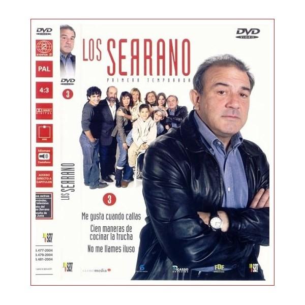 LOS SERRANO 1 TEMPORADA DISCO 3 DVD 2003