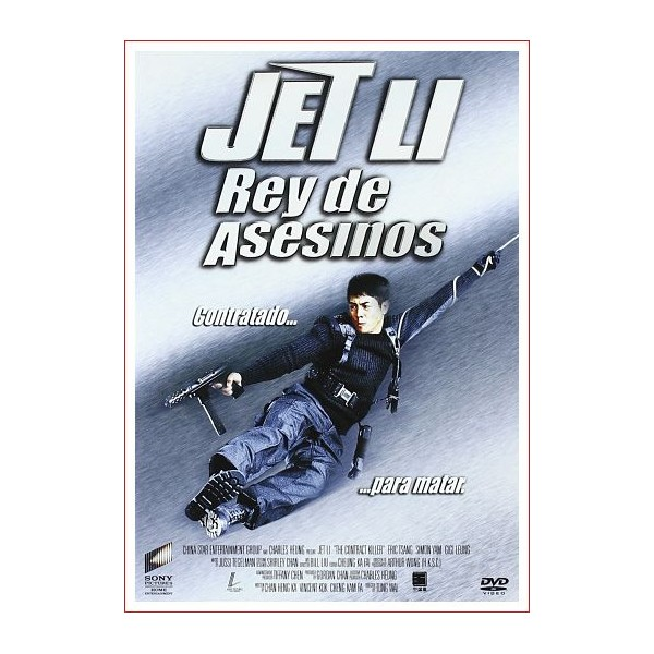 REY DE ASESINOS JET LI Dvd Acción 1998