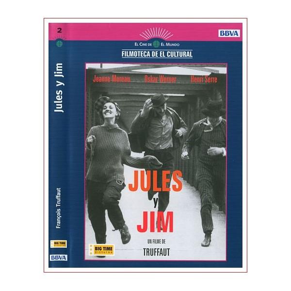 JULES Y JIM Drama DVD 1961
