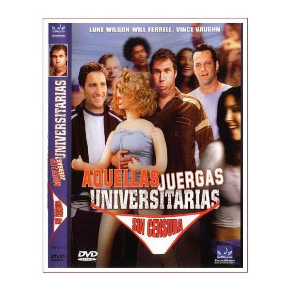 AQUELLAS JUERGAS UNIVERSITARIAS DVD 2003 Dirección Todd Phillips