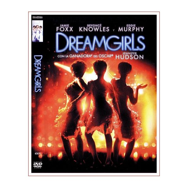 DREAMGIRLS DVD Comedia 2006