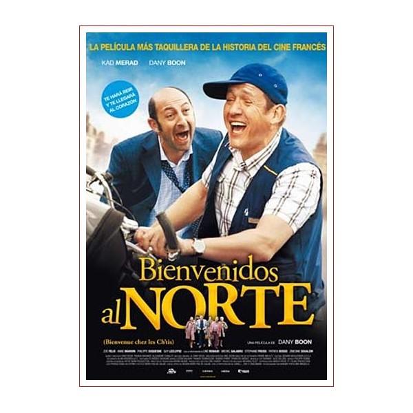 BIENVENIDOS AL NORTE DVD 2008 Dirección Dany Boon