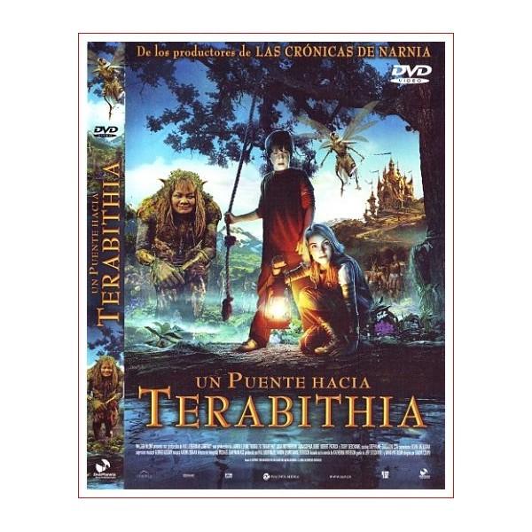 Un puente hacia Terabithia Dvd 2007 Director Gabor Csupo