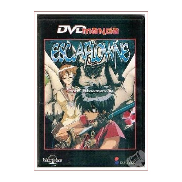 DVD MANGA ESCAFLOWNE