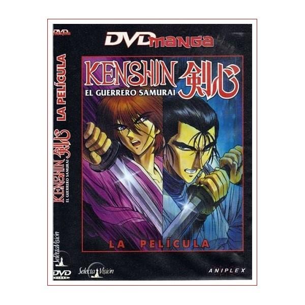 KENSHIN EL GUERRERO SAMURAI DVD Manga 1997