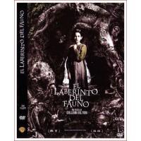 EL LABERINTO DEL FAUNO DVD 2006 Dirección Guillermo del Toro