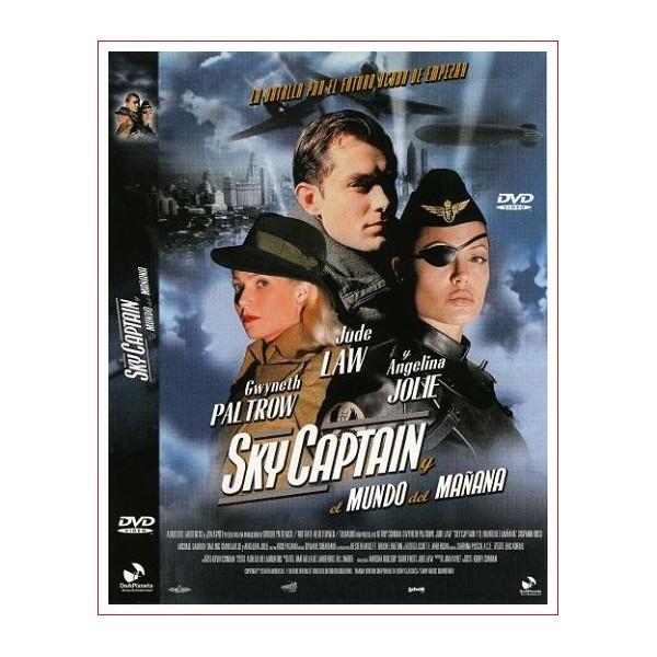 SKY CAPTAIN Estuche Slim DVD 2004 Suspense Dirección Kerry Conran