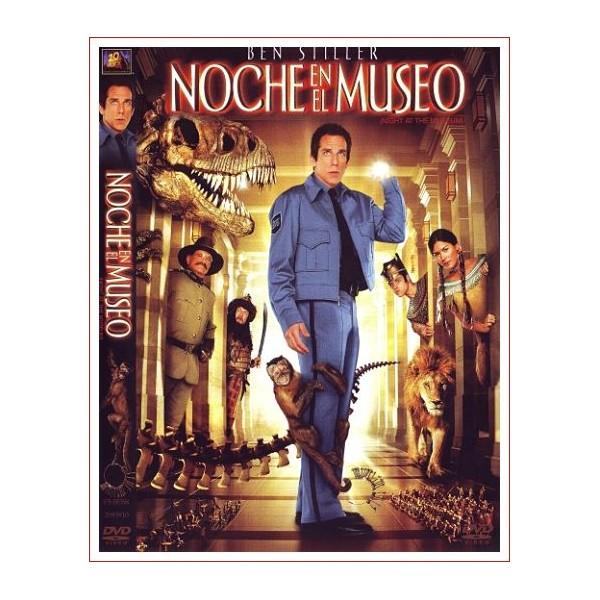 NOCHE EN EL MUSEO DVD Comedia 2006 Dirección Shawn Levy
