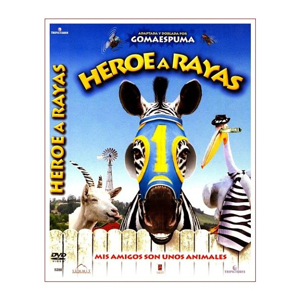 HEROE A RAYAS DVD INFANTIL 2005 Dirección Frederik Du Chau