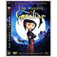 LOS MUNDOS DE CORALINE DVD 2009 Infantil Dirección Henry Selick