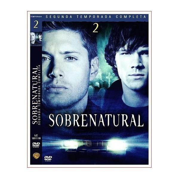 SOBRENATURAL TEMPORADA 2 COMPLETA 5 DVD