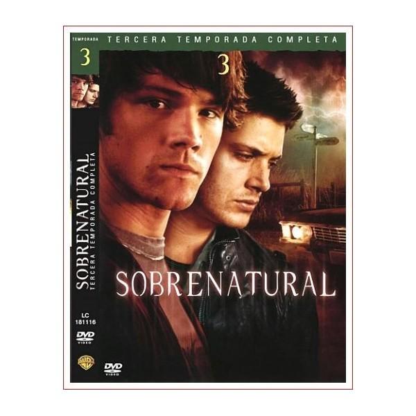 SOBRENATURAL TEMPORADA 3 COMPLETA 5 DVD