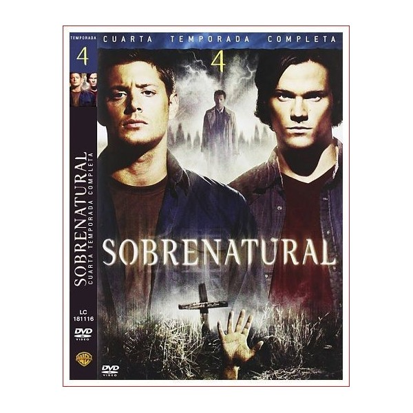 SOBRENATURAL TEMPORADA 4 COMPLETA 5 DVD