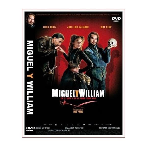 MIGUEL Y WILLIAM DVD 2007 Drama de época, Siglo XVI, Teatro