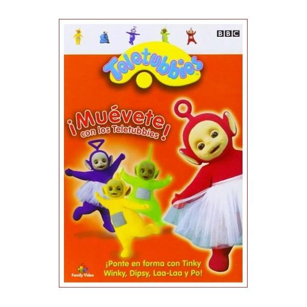 TELETUBBIES MUEVETE CON LOS TELEUBBIES DVD 1997 Dir.Andrew Davenport