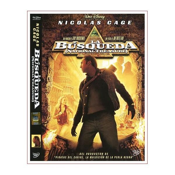 LA BUSQUEDA Dvd Acción 2004 Dirección Jon Turteltaub