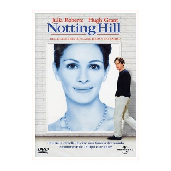 NOTTING HILL Romantica DVD 1999