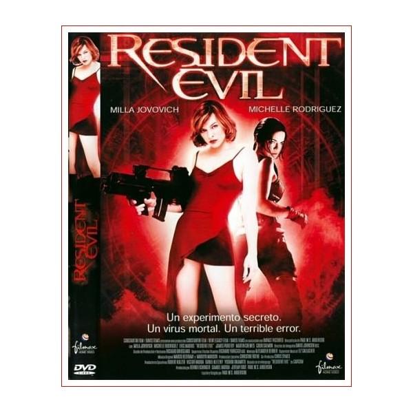 RESIDENT EVIL Dvd Suspense 2002