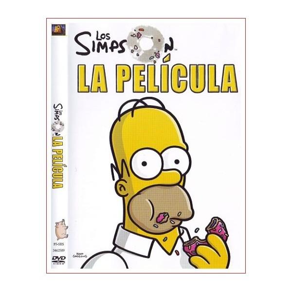 LOS SIMPSON LA PELICULA DVD Comedia Animación